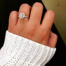 cushion cut halo engagement rings new wedding ideas trends