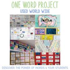 Word Project One Word Project A Word Of The Week Month Or Year And How