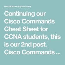 cisco command cheat sheet ccna cisco commands cheat sheet 2
