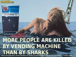 Interesting Facts About Vending Machines Gorgeous Cracked On Twitter Sharks Vs Vending Machines 48 Facts That