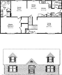 cape house plans lovely floor plans