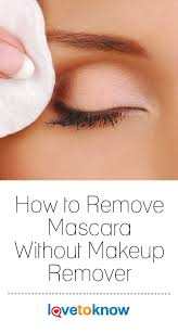 mascara is an essential item for many beauty but it can be difficult to remove whether you ve run out of your favorite bought remover or want