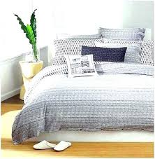 image from grey textured duvet cover sets home design remodeling dyed linen light quilt 68744