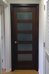 interior shaker doors. Mahogany Interior Shaker Door Frosted Glass NY Condo Replacement Doors O