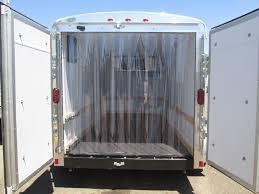 6 x 12 custom refrigerated trailer 7 000lb gvwr double rear doors