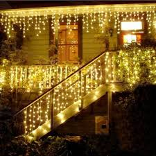home lighting decoration fancy. 4m Led Icicle Curtain Fairy String Light Christmas 220V/110V Wedding Garland Party Decoration-in LED From Lights Home Lighting Decoration Fancy H