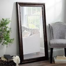 bathroom mirrors framed. Beaded Bronze Framed Mirror, 32x56 In. Bathroom Mirrors D