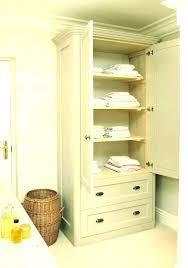 linen closet for bathroom free standing linen closet linen cabinet free standing linen cabinet medium size linen closet