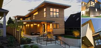 northwest modern home architecture.  Architecture Northwest Contemporary Cedar Home In Seattle Washington  Completed 2012 With Modern Architecture