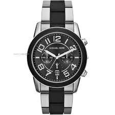 "men s michael kors mercer chronograph watch mk8321 watch shop comâ""¢ mens michael kors mercer chronograph watch mk8321"