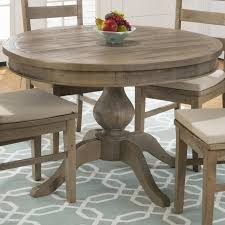 jofran furniture slater mill round to oval dining table the classy home