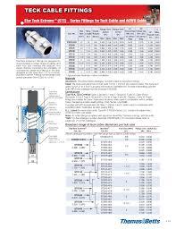 Star Teck Connector Size Chart 01 Teck Mro_en