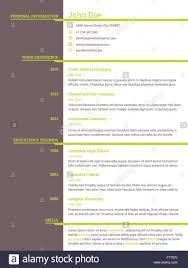 curriculum template job seekers cv template modern resume curriculum vitae design for