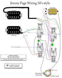 issue with coil tapping splitting Split Coil Wiring Diagram click image for larger version name jimmy_page_50_s_style_wiring jpg views 55 size okay there's the wiring harness diagram humbucker coil split wiring diagram