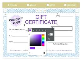Fitness Gift Certificate Template Free Gym Buildingcontractor Co