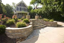 front yard retaining wall designs