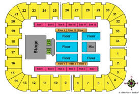 Berglund Center Seating Chart High Quality Seating Chart For Roanoke Civic Center Berglund