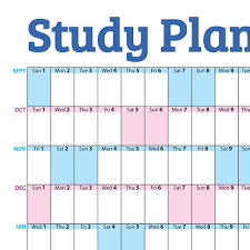 Study Chart For Students Study Planner Chart 2019 2020