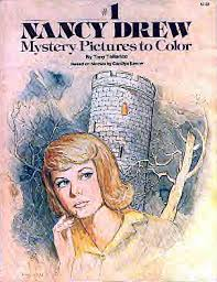 Image result for nancy drew coloring books