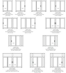 standard patio door size standard patio door size aluminium sliding sizes 3 panel glass medium size