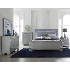 king bedroom sets. Gray 6 Piece King Bedroom Set - Allura Sets H