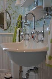 wall mounted trough sink ideas on