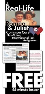 images about romeo and juliet lessons and ideas make shakespeare s romeo juliet even more relevant to your students this real life