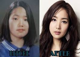 south korean actresses lee ji ah before and after makeup lin malam throughout korean