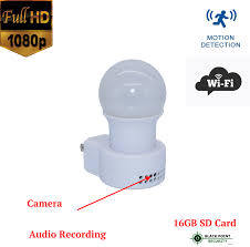 Hidden Covert Security Nanny Full Hd Camera With Wifi In Night Lamp