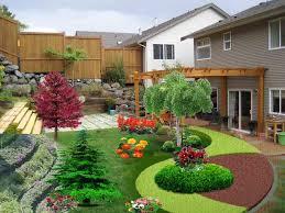 Small Picture Back Garden Design Ideas