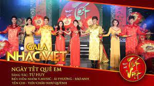 Ngày Tết Quê Em - V.Music, Nhiều nghệ sĩ | Gala Nhạc Việt 1 (Official) -  YouTube