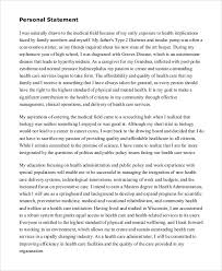 College Personal Statement Examples Personal Statement Examples For Art College