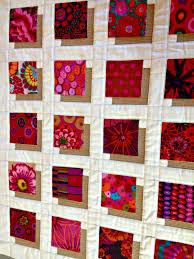tutorial = Shadow Blocks Mini quilt, featuring Kaffe Fassett ... & Patchwork · = tutorial = Shadow ... Adamdwight.com