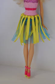 diy barbie clothes layered skirt