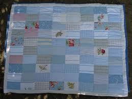 Pale Blue Baby Quilt &  Adamdwight.com