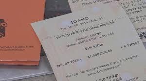 Million Dollar Lotto Ticket Sold In Twin Falls