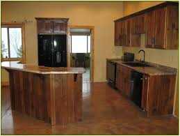 Reclaimed Wood Kitchen Cabinets Second