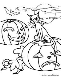 Small Picture Black cat coloring pages Hellokidscom