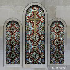 church stained glass windows pixerstick sticker textures