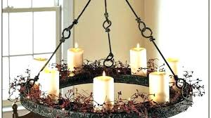 chandeliers flameless candle chandelier non electric lighting