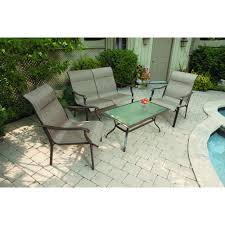 piece patio set mainstay furniture sets