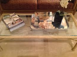 How To Decorate A Coffee Table Tray Coffee Table Tray Decor Ideas In Trendy Ottoman Coffee Table Tray S 75