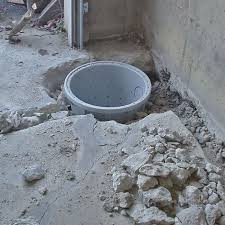 placing a sump pit in a goleta home