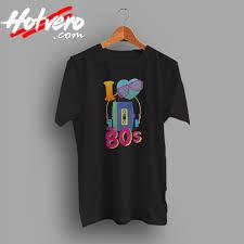 80s T Shirt Designs I Love The 80s Tee T Shirt