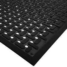 Kitchen Fatigue Floor Mat Mat 2540 C10 Vip Guardian 3 X 10 Black Grease Proof Anti Fatigue