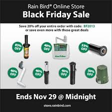 17 best images about rain bird irrigation products black friday has arrived at the official rain bird online store save 20% off
