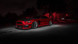 Wallpaper Red car, design, ford mustang ...