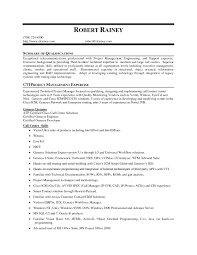 Summary Qualifications Resume Examples Examples Of Resumes