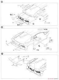 Lamborghini aventador lp750 4 sv model car assembly guide8