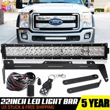 2001 Ford F250 Light Bar Details About For 11 16 Ford F250 F350 F450 Front Bumper 22inch Led Light Bar W Mounting Wire